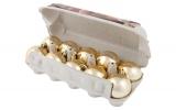 Шары в упаковке для яиц.