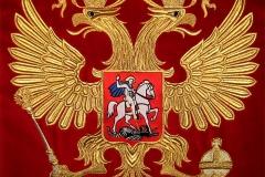 Вышивка герб.