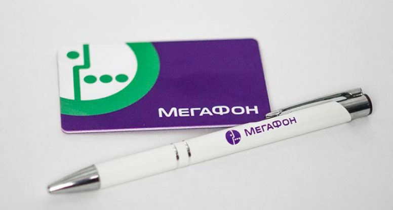 Флешка и ручка Мегафон